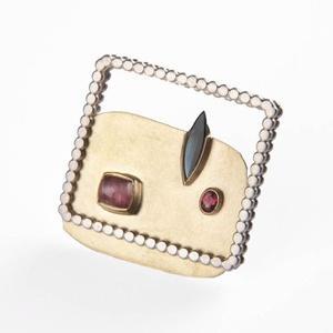 brooch by world luxury jeweller Daisy Verheyden