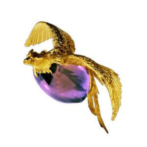 brooch by jewellery designer Marc Alexandre