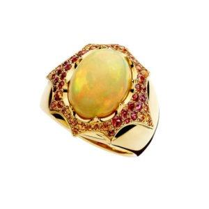 ring by jewellery designer Marc Alexandre
