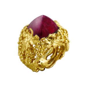 jewellery ring by world luxury jeweller Marc Alexandre