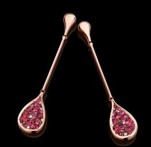 earrings by Antwerp Jeweller Joke Quick