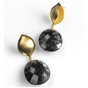 earrings by jewellery designer Marie-Bénédicte