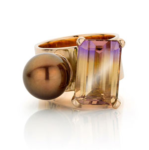 ring by Belgian jeweller Marie-Bénédicte