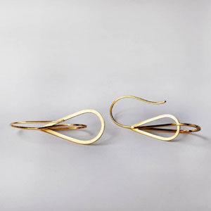 earrings by jewellery designer Gerhild Kirchner
