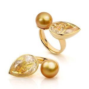 rings by jewellery designer Marie-Bénédicte