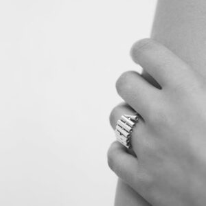 ring by jewellery designer Lydia Segers